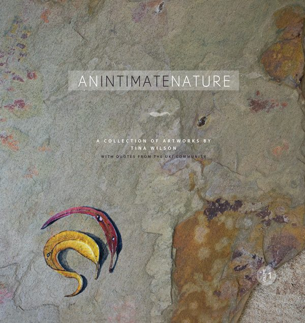 An Intimate Nature Art Book by Artist Tina Wilson