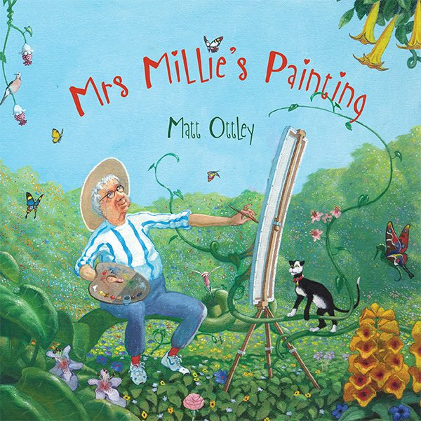 Mrs Millie's Painting by award winning author and illustrator Matt Ottley