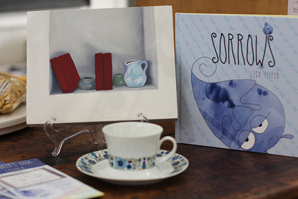 The launch of Australian Author and Illustrator Lisa Tiffen's children's picture book, Sorrows.