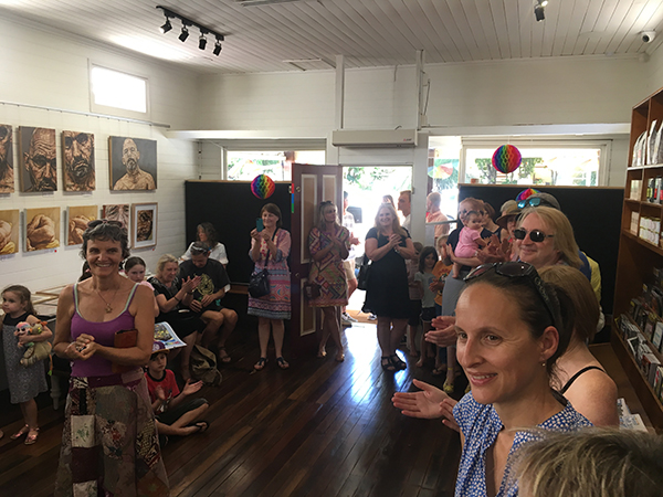 The launch of Australian author and illustrator Lisa Tiffen's children's picture book, Sorrows
